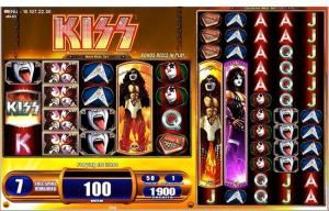 Kiss(tm) online slot